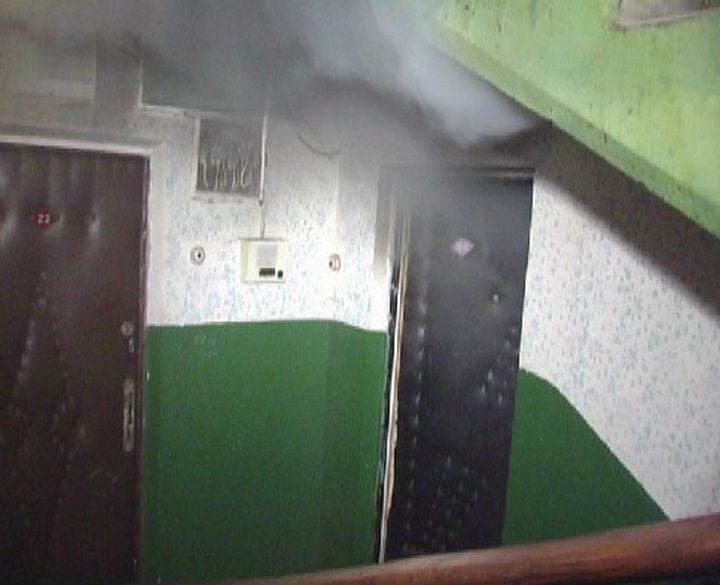 НаЗаре воВладивостоке загорелась многоэтажка