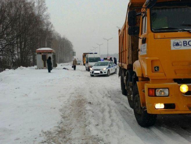 ВТатарстане натрассе автобус насмерть сбил пожилого мужчину