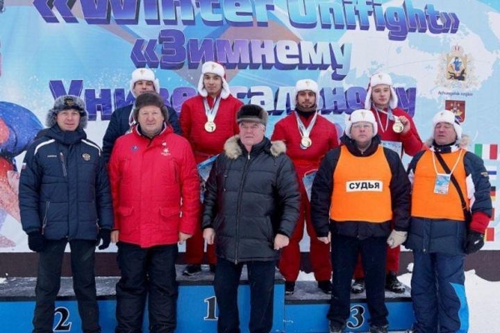 Спортсмен изТвери завоевал титул чемпиона мира поуниверсальному бою