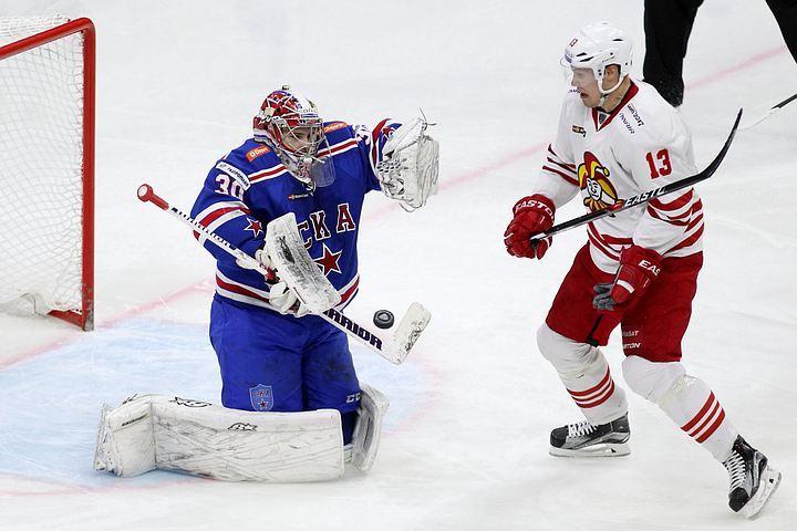 СКА проиграл четвертый матч подряд вКХЛ
