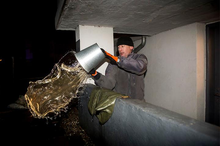 На западном побережье Дании может произойти наводнение. Фото: The Local