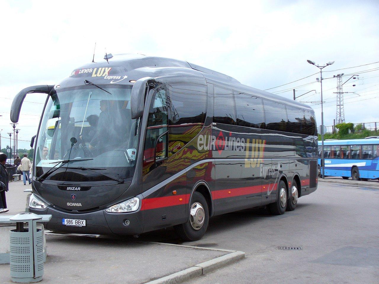 Lux экспресс изменил расписание автобусов между Петербургом иТаллином