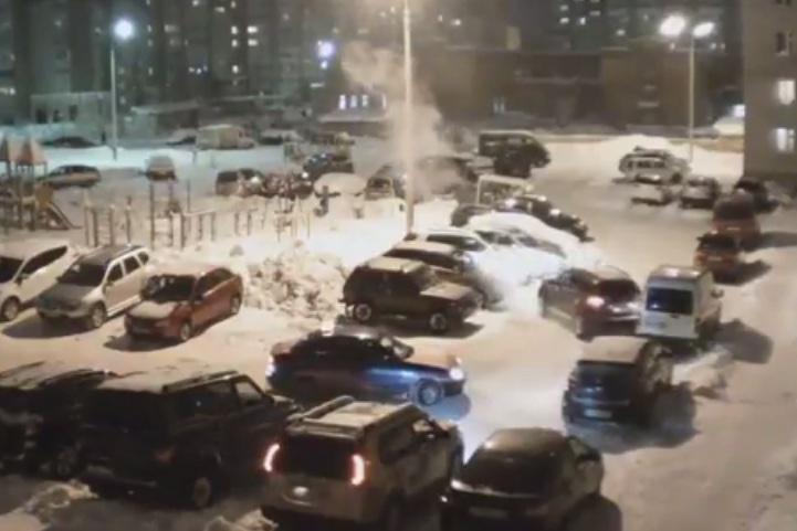 ВРеспублике Удмуртия нетрезвый шофёр протаранил 5 авто