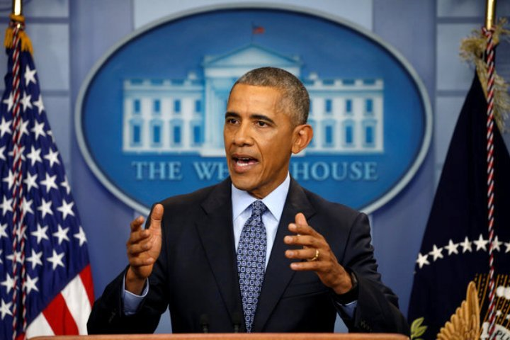 Обама проводит последнюю пресс-конференцию напосту президента США