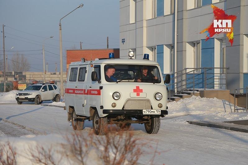 ВКрасноярске мужчина угнал автомобиль скорой помощи, чтобы прокатиться