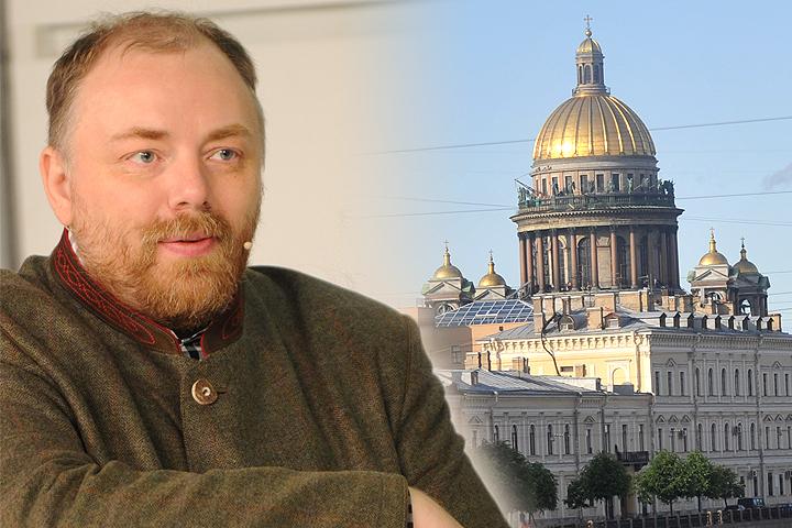 """Егор Холмогоров высказал свой взгляд на ситуацию с Исаакиевским собором в студии радио """"Комсомольская правда""""."""