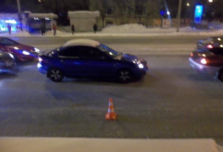 ВЕкатеринбурге шофёр «Мерседеса» сбил подростка