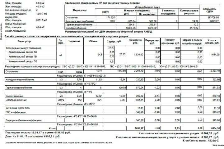 Новые правила оплаты услуг ЖКХ недолжны увеличить общую сумму вквитанциях