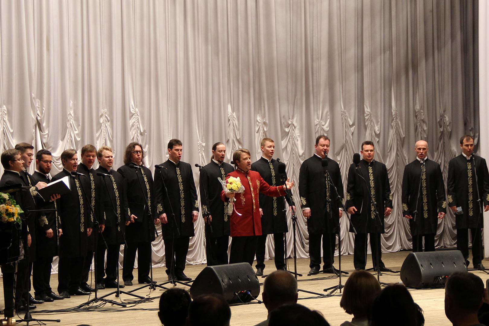 Популярный хор Валаамского монастыря выступил вКлинцах