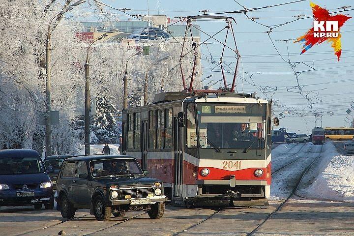 ВИжевске попроспекту Калашникова планируется пустить трамвай