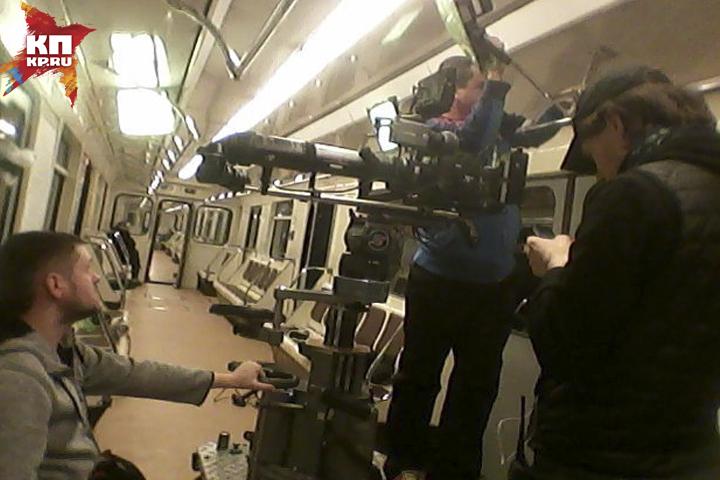 Нереальный фильм «Черновик» снимают вНижегородском метро