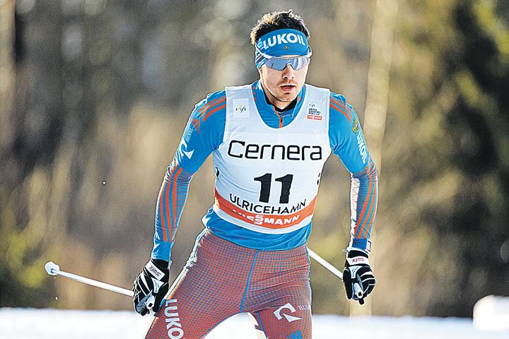 Максима Вылегжанина изУдмуртии оставили всписке временно отстраненных лыжников