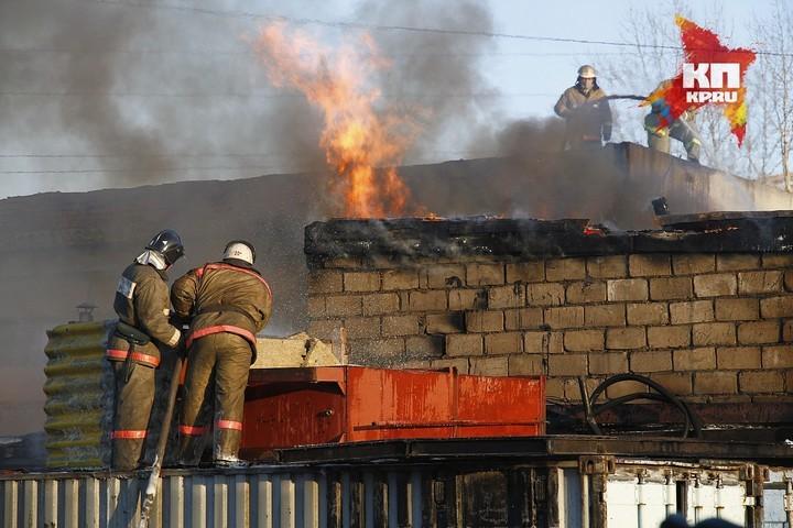 ВЛесосибирске впожаре в личном доме погибли два человека