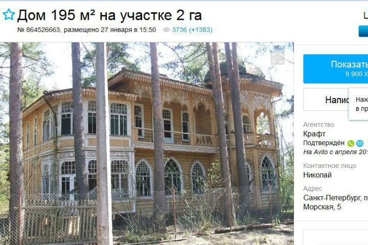 Сын Анатолия Сердюкова реализует через Интернет бывшую дачу Минобороны