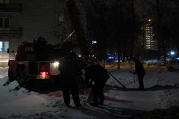 Впроцессе пожара вобщежитии Брянского госуниверситета спасли девятерых студентов