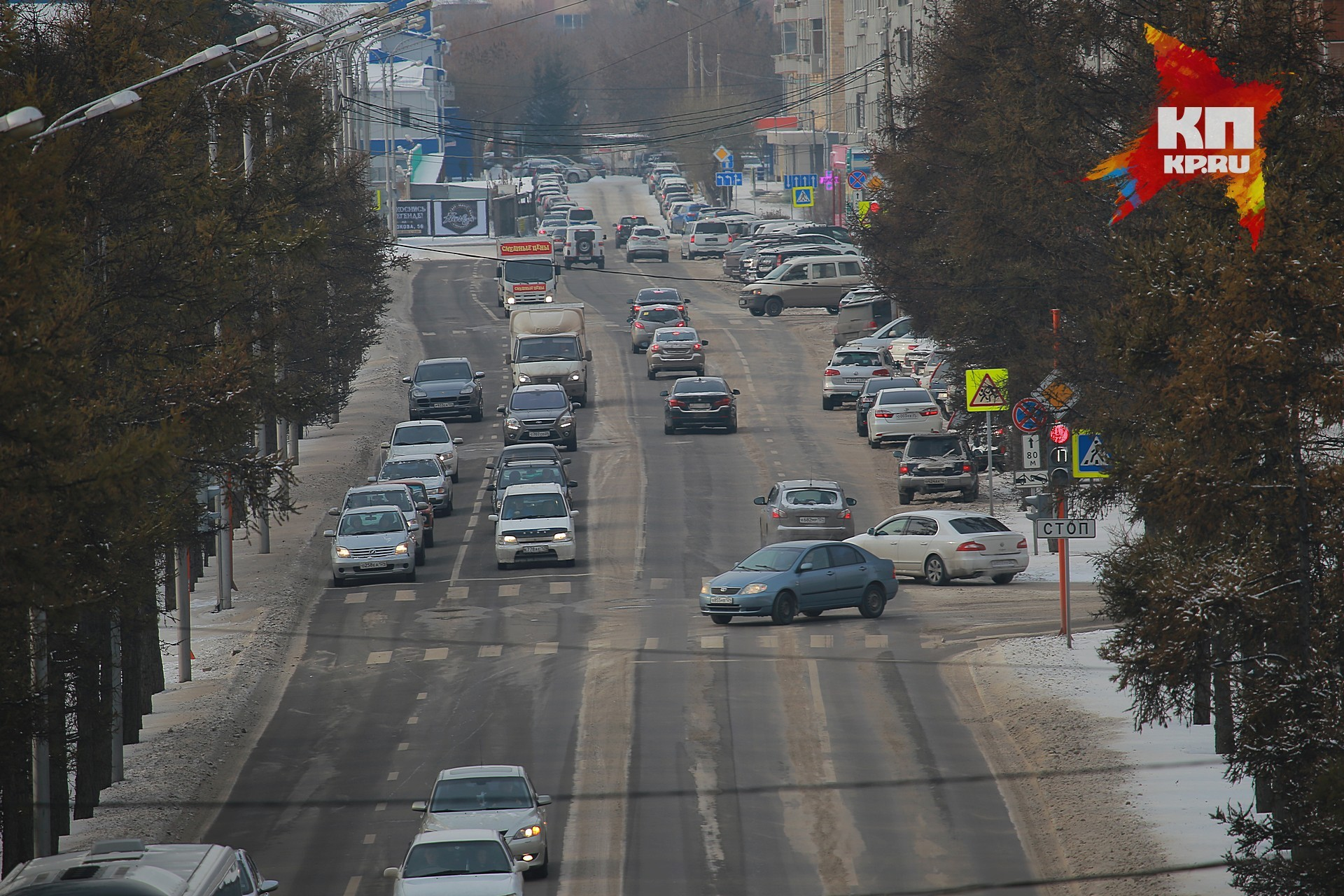 ВКрасноярске наремонт дорог в 2017г истратят 2 млрд руб.
