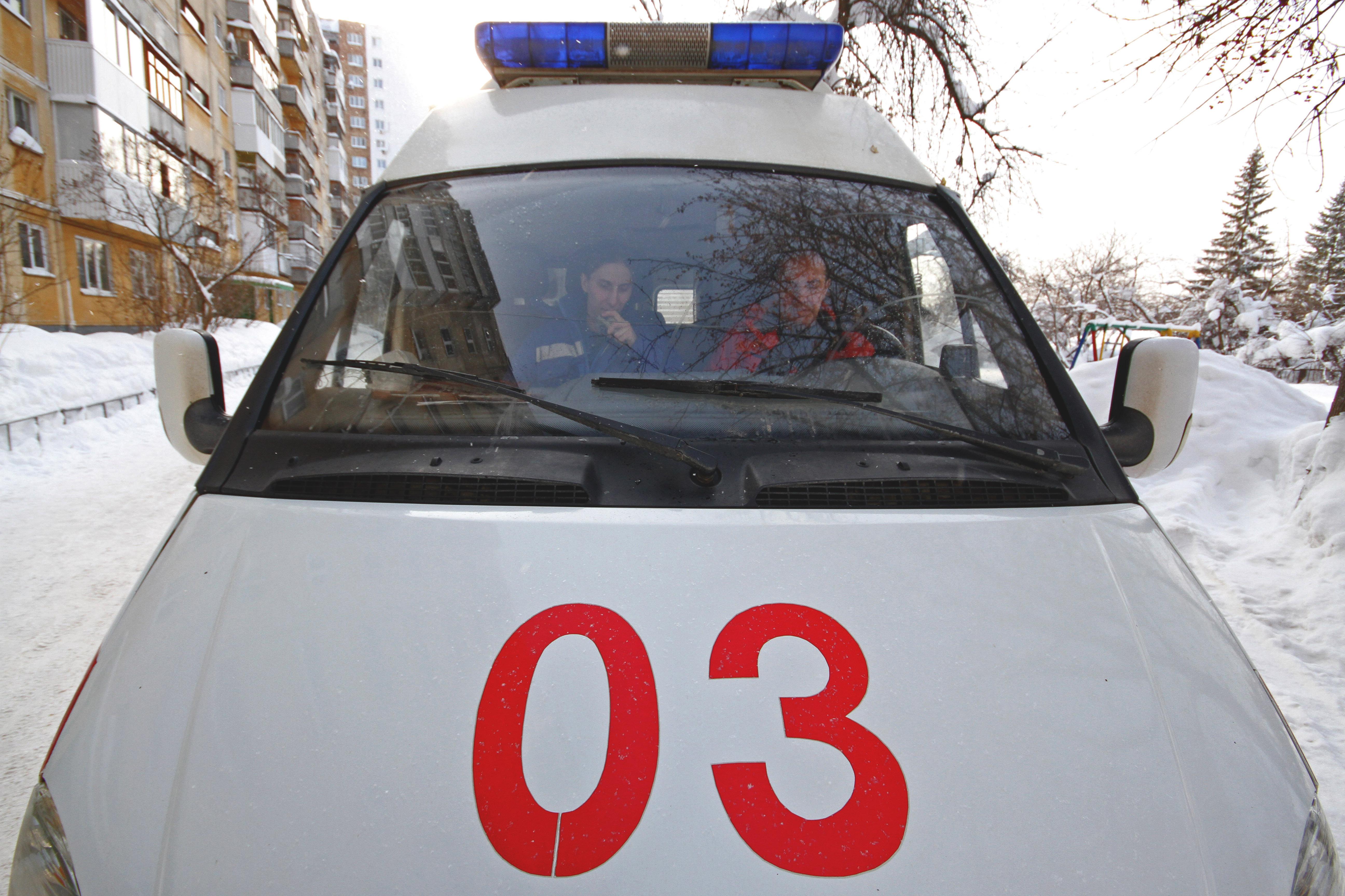 В российской столице столкнулись грузовой автомобиль ипассажирский автобус— есть пострадавшие