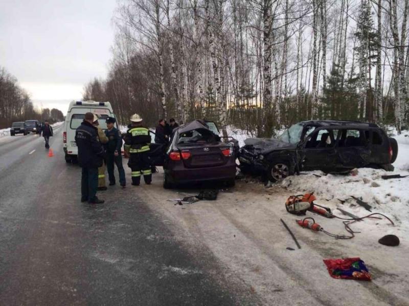 ДТП вМеленковском районе— двое погибших ипятеро пострадавших