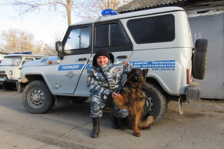 ВСеверском районе пес Рекс помог отыскать похищенный телевизор