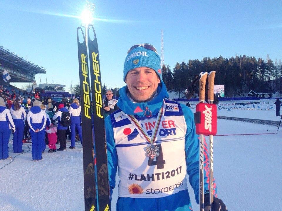 Сергей Устюгов завоевал серебро влыжном марафоне
