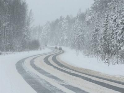 ВЮгре ожидаются обильные снегопады игололед