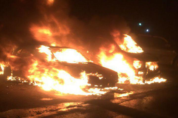 Наулице Бабушкина заночь случилось три пожара— Петербург