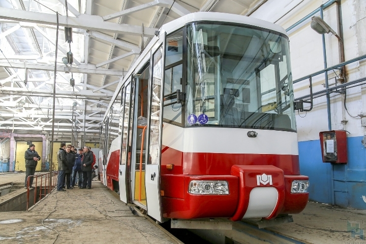 Сначала лета намаршрут выйдет 1-ый российско-белорусский трамвай