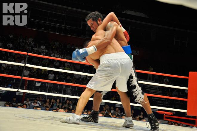 Вечер профессионального бокса в уфе