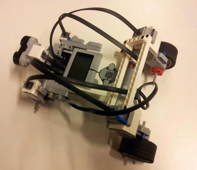 Этот небольшой робот хорошо ориентируется в пространстве Фото: Предоставлено организаторами