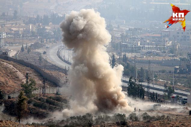 Уже всем понятно - быстрого блицкрига в Сирии не получится Фото: Александр КОЦ, Дмитрий СТЕШИН