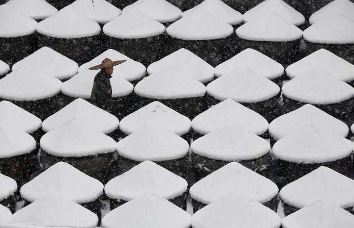 На Тайване и в Гонконге аномальные холода Фото: REUTERS
