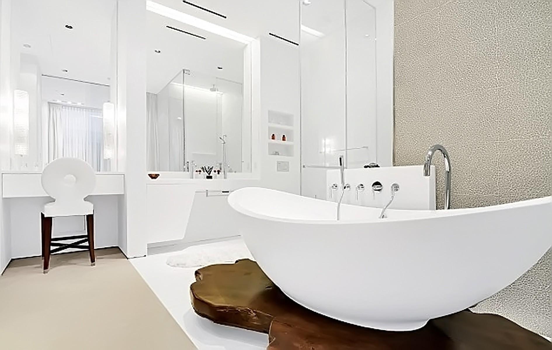 Ванная комната Ирины. Фото: EAST NEWS.