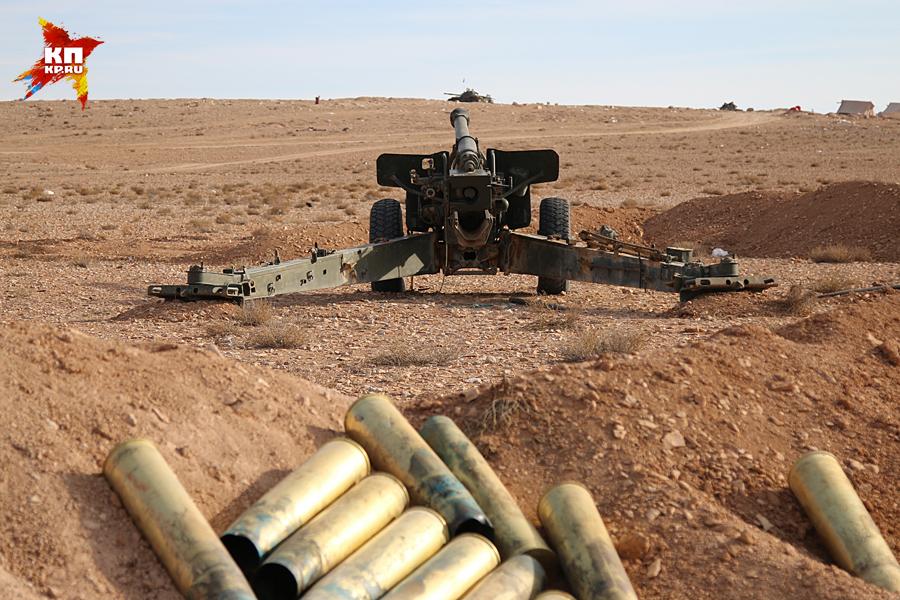 Отсюда до владений ИГИЛ всего пара километров Фото: Александр КОЦ, Дмитрий СТЕШИН