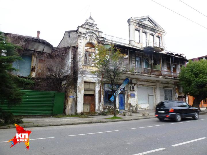 В центре города Сухума. Фото: Николай ВАРСЕГОВ