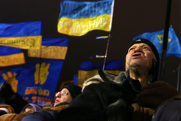 У разных людей, стоявших на Майдане, были разные «мечты». Общих - не так уж много.  Фото: ИТАР-ТАСС/ Валерий Шарифулин
