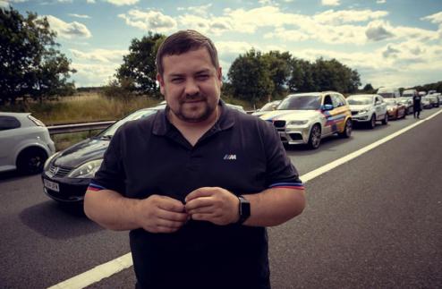 Китуашвили считают одним из лидеров столичных стритрейсеров. Фото: Личная страничка героя публикации в соцсети