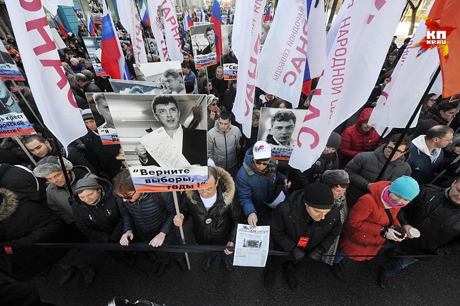 Никакого митинга не предусматривается - это именно марш Фото: Михаил ФРОЛОВ