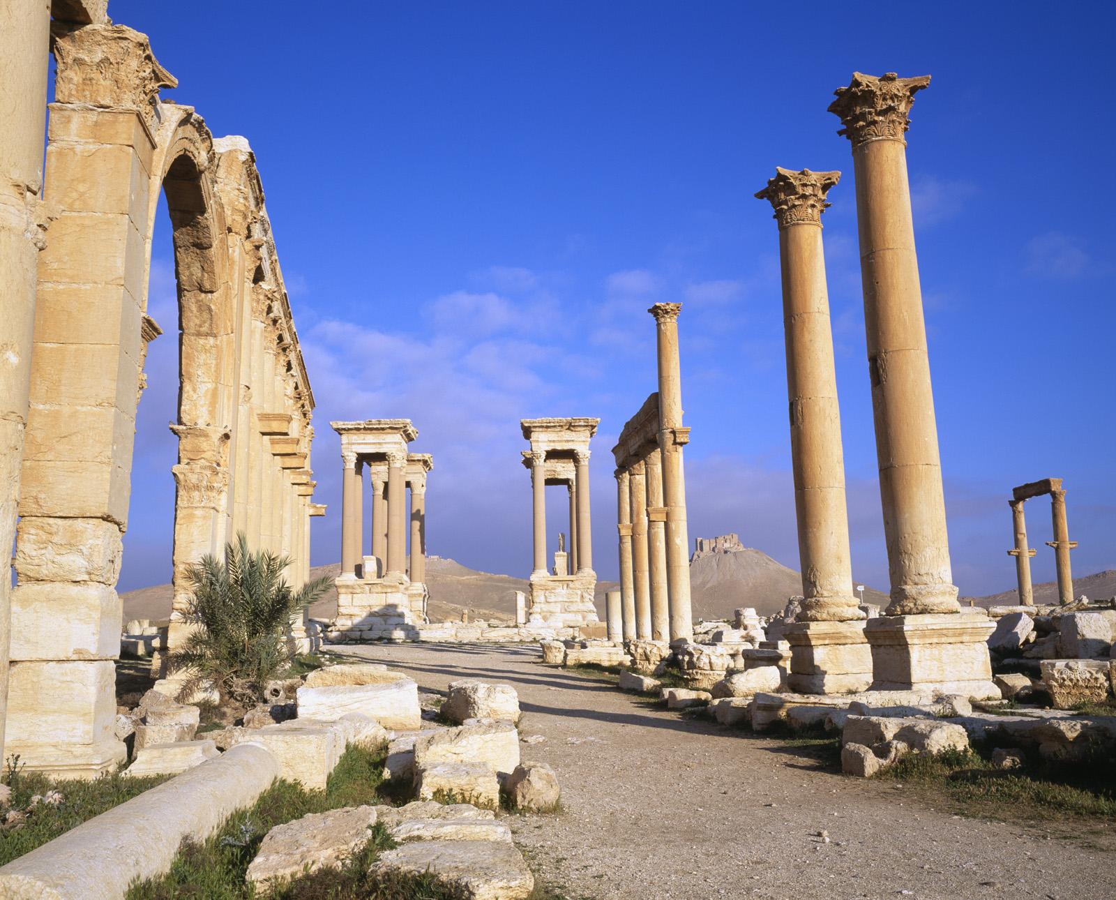 Боевики уничтожили архитектурные реликвии древней Пальмиры. Фото: ITAR-TASS/PHOTAS/JTB Photo