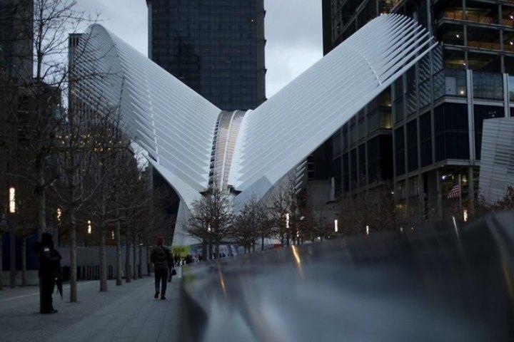 Станция укрыта стальными «ребрами», напоминающими крылья птиц Фото: REUTERS