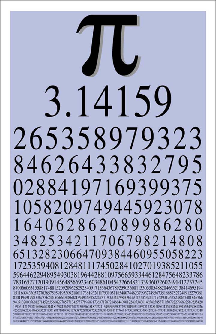 """Количество знаков после запятой в числе """"Пи"""" множится год от года."""