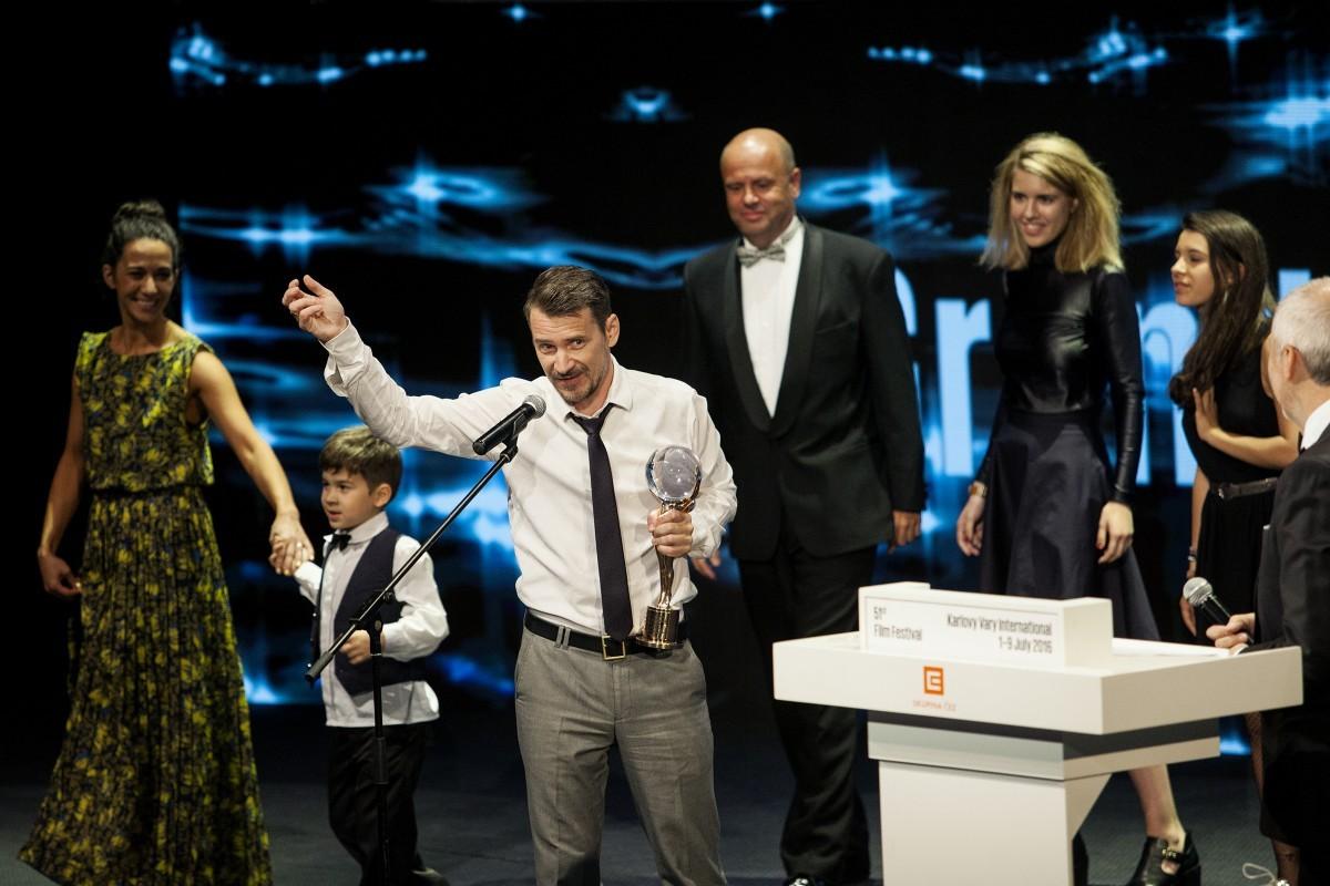 Главный приз, «Хрустальный глобус» справедливо достался венгерскому режиссеру Саболчу Хайду. Фото пресс-службы фестиваля