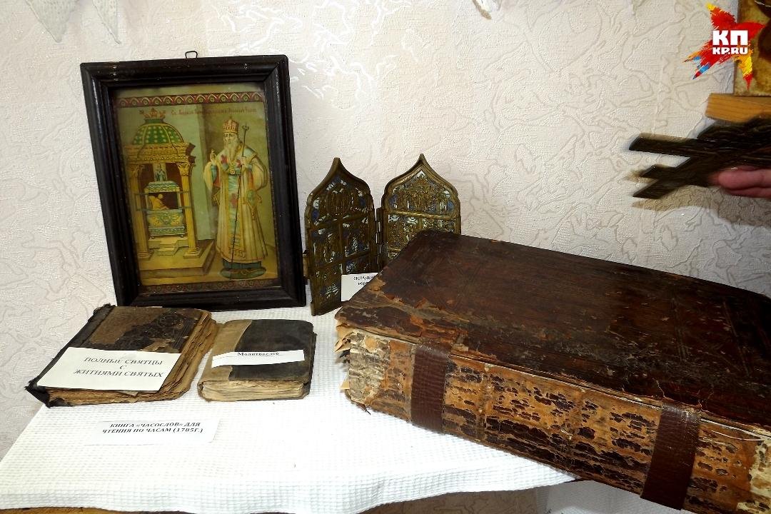 Есть и предметы церковного быта, которые также попадали к Виктору Булкину удивительным образом Фото: Ирина ТАРАСОВА