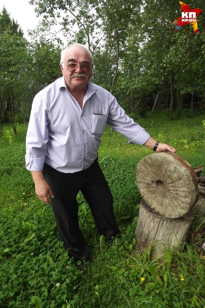 Но Виктор Булкин все-таки надеется, что какая-то точка по его огороду и находкам все-таки будет поставлена Фото: Ирина ТАРАСОВА