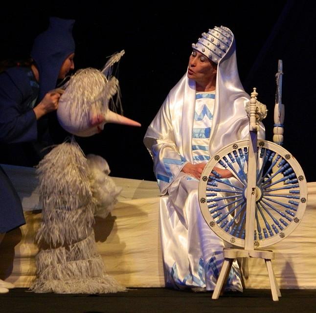 «Маленькая метель». Фото: teatrkukoludm.ru