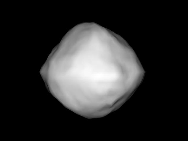 Компьютерная модель астероида 1999 RQ36, сделанная недавно в НАСА.