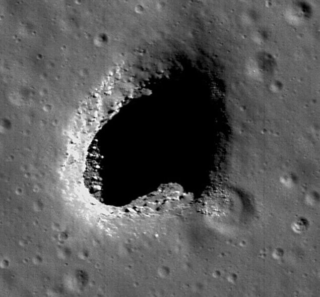 Первая дыра, обнаруженная еще японцами в 2008 году