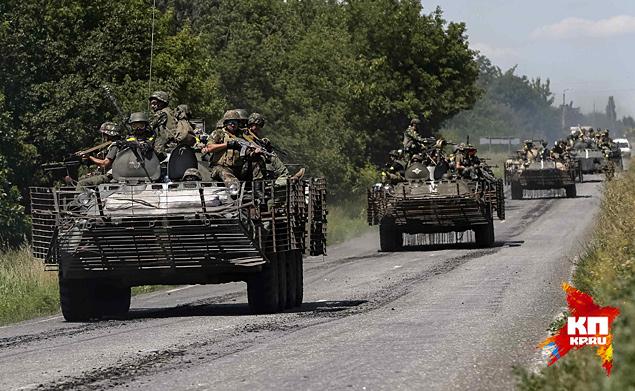 Основное преимущество украинской армии заключается в абсолютном превосходстве в тяжелом вооружении – в артиллерии, реактивных системах залпового огня и в танках Фото: REUTERS