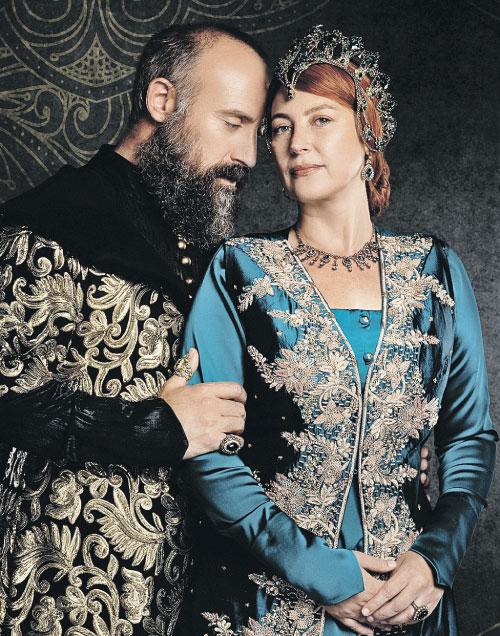 Сулейман и Хюррем - реальные личности, но любят не по учебникам истории... Фото: Телеканал «Домашний»