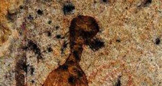 Пришелец крупнее - такими инопланетяне виделлись людям 10 тысяч лет назад