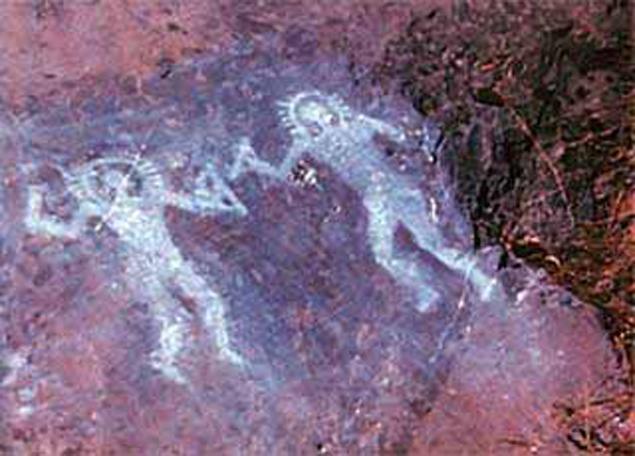 Инопланетяне на итальянских скалах.